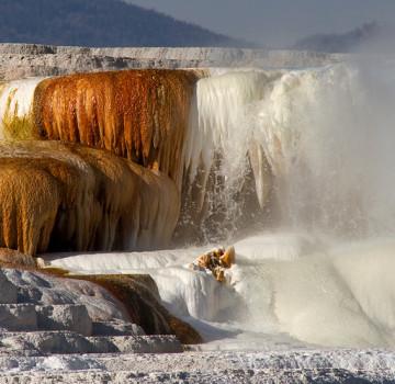 mammoth hotsprings